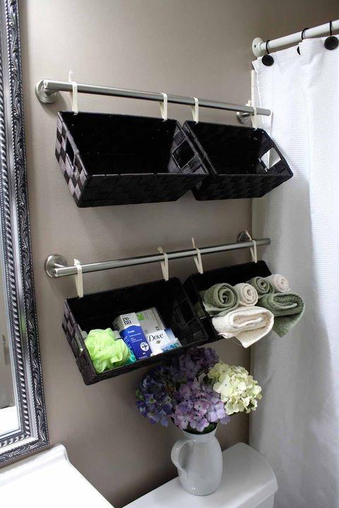 9 Hang The Baskets on The Wall via simphome