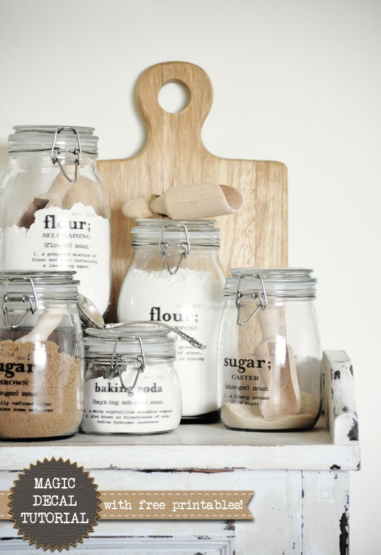 3 Get in Style with Printed Labels via simphome