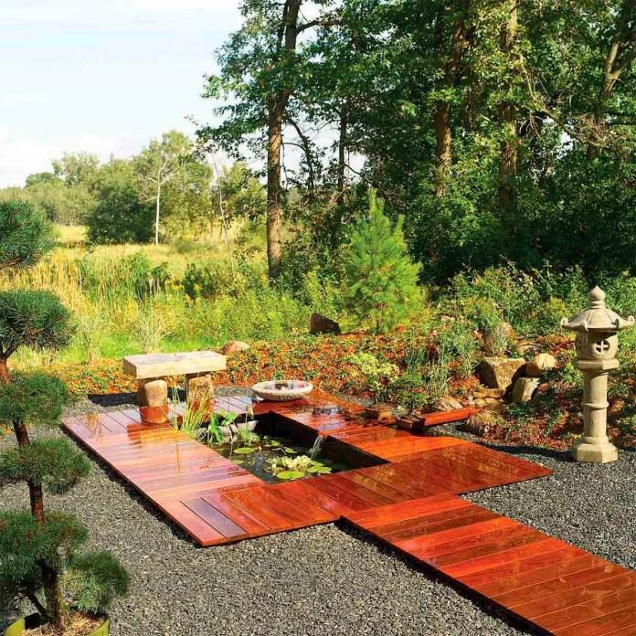 1 Beautiful Low Maintenance Garden via simphome after