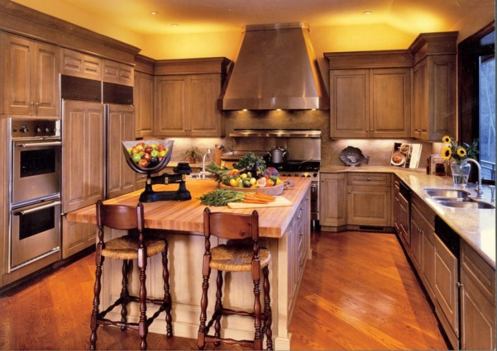 3 Traditional Kitchen to Modern One via Simphome before
