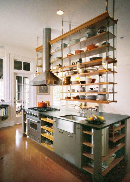 5 Above the Table Kitchen shelving system via Simphome 2