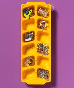 5 Repurpose an Ice Cube Tray via simphome