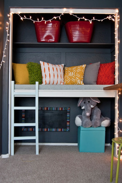 8 A Closet turn to a floating reading nook idea via Simphome 1