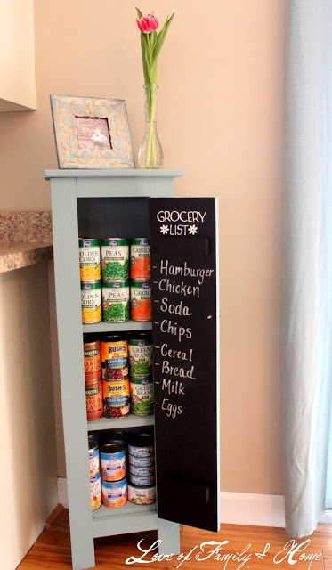 8. DIY Pantry via Simphome