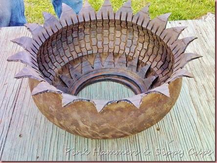 Tire as Planter via Simphome 9