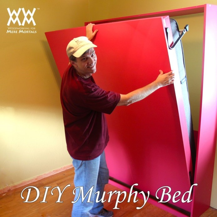 2. Chic Murphy Bed via Simphome 2
