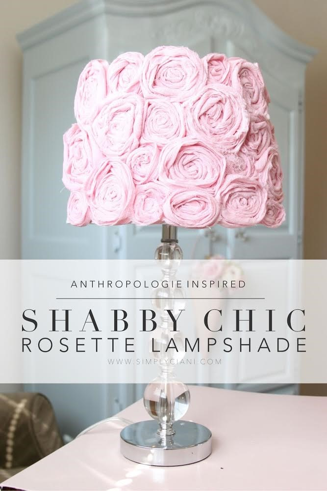 3. Shabby Chic Lampshade via Simphome