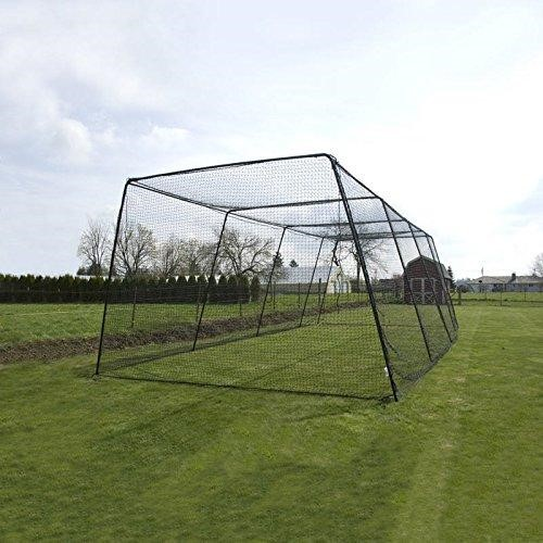 1. SIMPHOME.COM Fortress Trapezoid Baseball Batting Cage