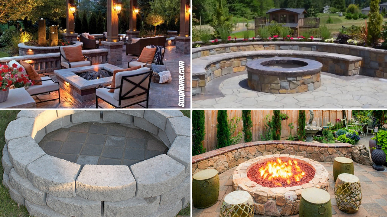 makeover outdoor backyard firepits