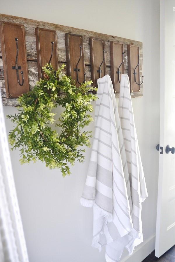 2. Bathroom Hooks via SIMPHOME.COM