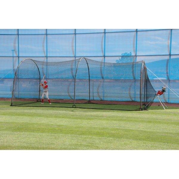 5.Xtender 24' 72' Home Batting Cage via SIMPHOME.COm