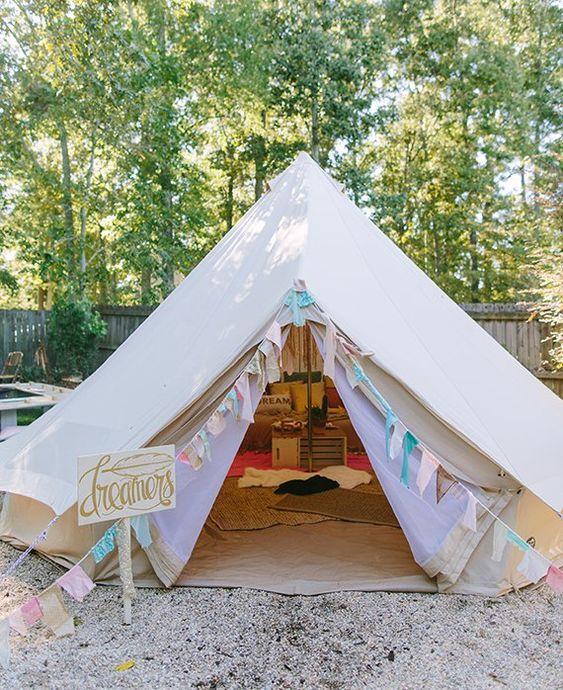 6.A Party in The Tent via SIMPHOME.COM