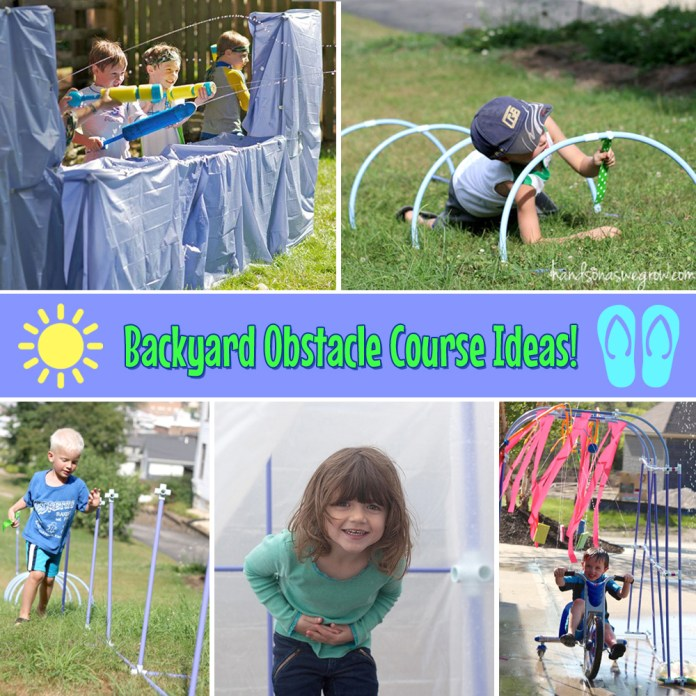 15.SIMPHOME.COM fun ideas for an obstacle course in your backyard