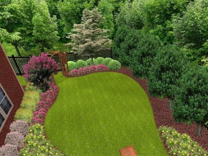 19.SIMPHOME.COM A privacy simple landscaping ideas sard info
