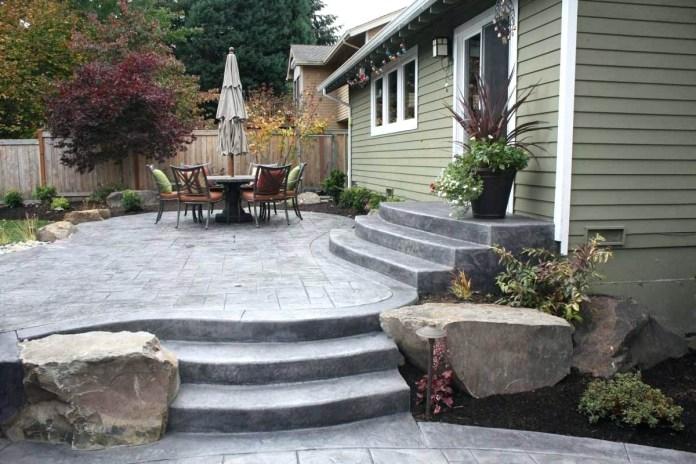 20.SIMPHOME.COM backyard concrete patio ideas images design stamped