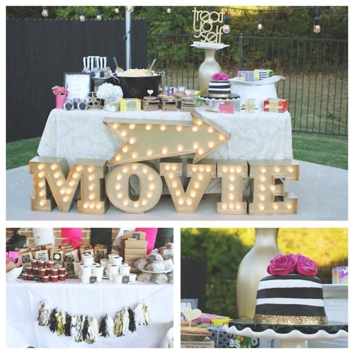 27.SIMPHOME.COM Ways How to Improve Backyard Movie Party Ideas.