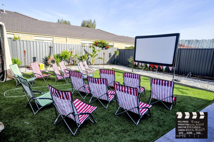 28.SIMPHOME.COM backyard movie night ideas cynthia vincent s outdoor one kings lane