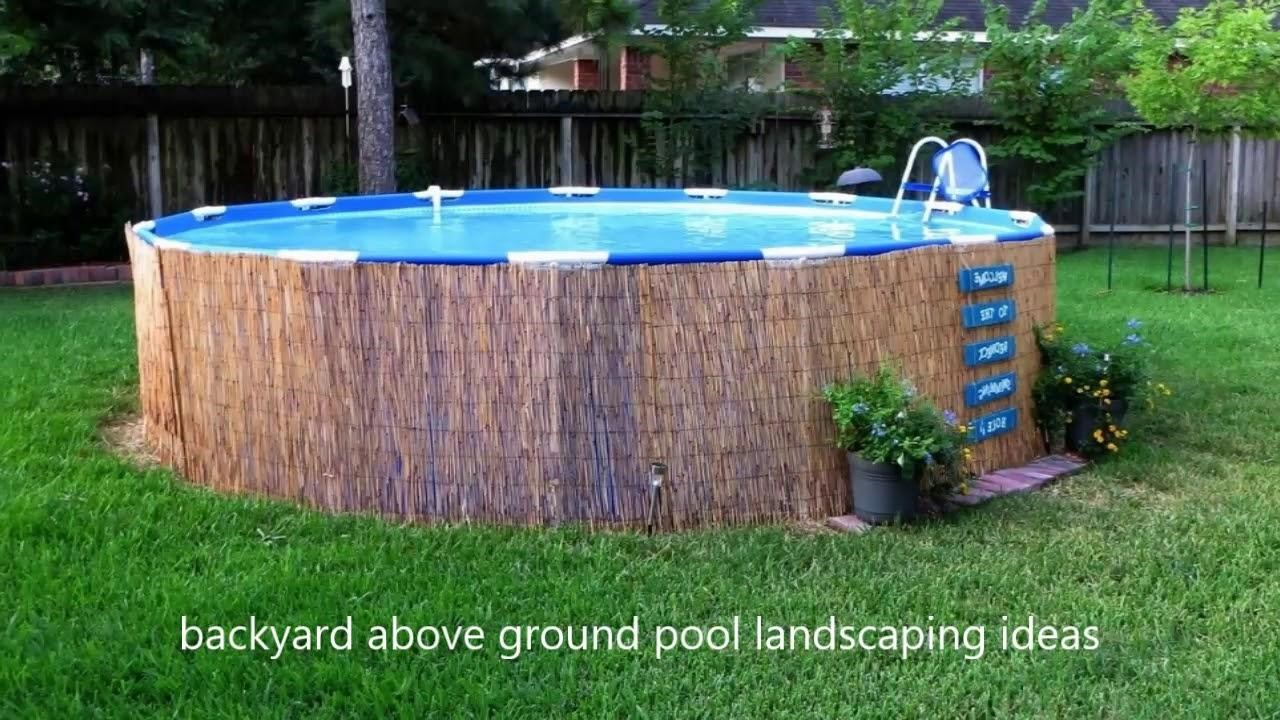 14 Ideas How To Build Above Ground Pool Backyard Ideas Simphome