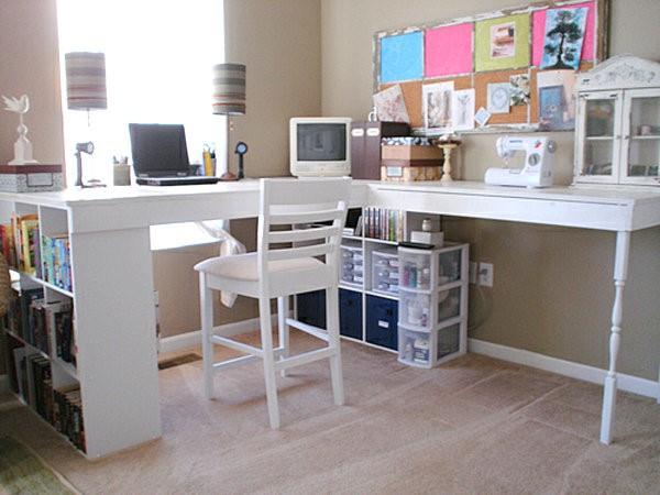 9.SIMPHOME.COM Large DIY Desks