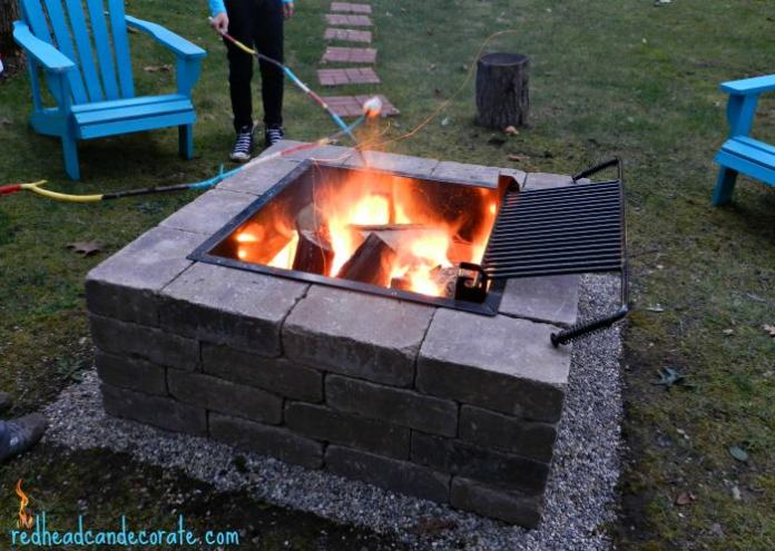 7. Simphome.com Square Fire Pit and Grill Project 1