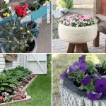 10 Diy Flower Bed Ideas Simphome
