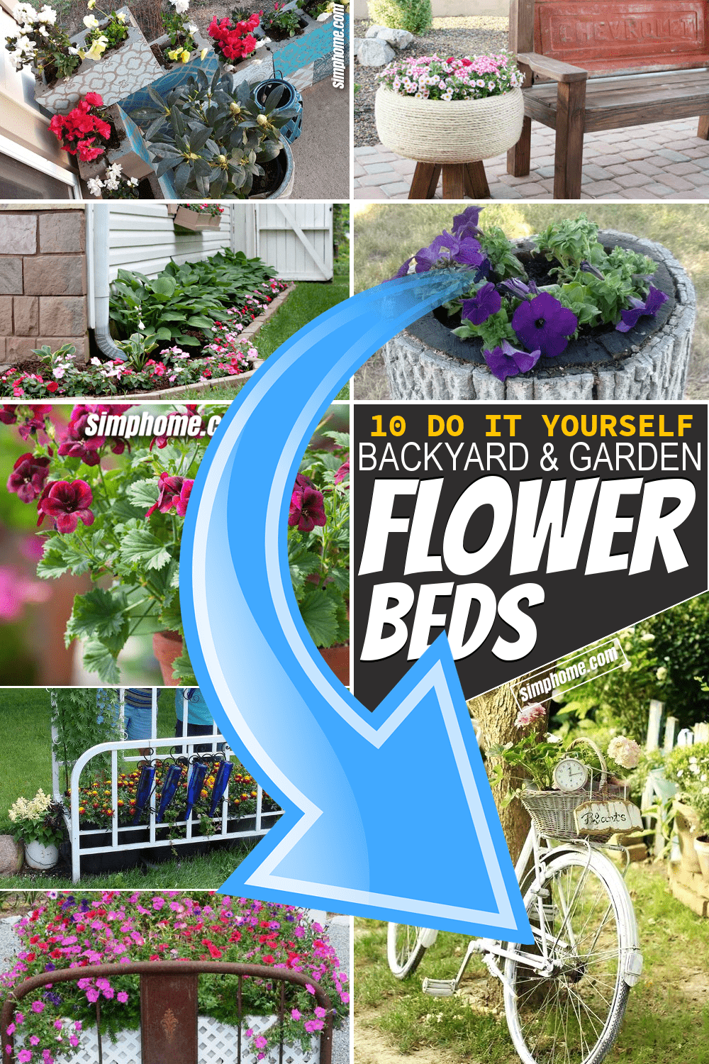10 Diy Flower Bed Ideas Simphome
