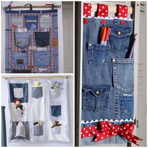 3.Simphome.com Jeans Pocket Organizer