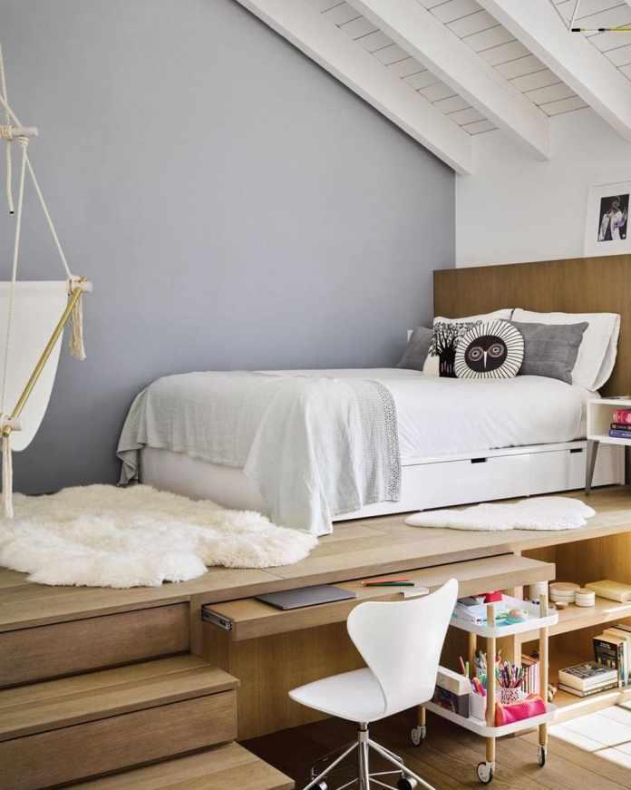 10.Simphome.com Raise Your Bed a Few Feet off the Floor