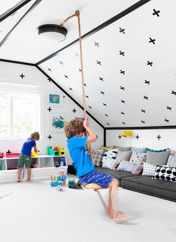 6.Simphome.com Attic Toddler Bedroom 3