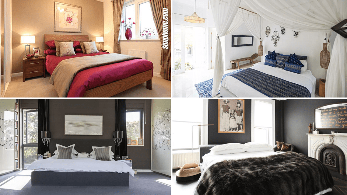 10 Modern Small-Bedroom ideas for New Couples - Simphome