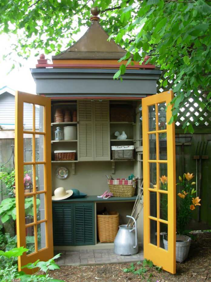 Simphome.com best small storage shed projects ideas and designs for 2020 with 10 small garden shed ideas awesome and also attractive