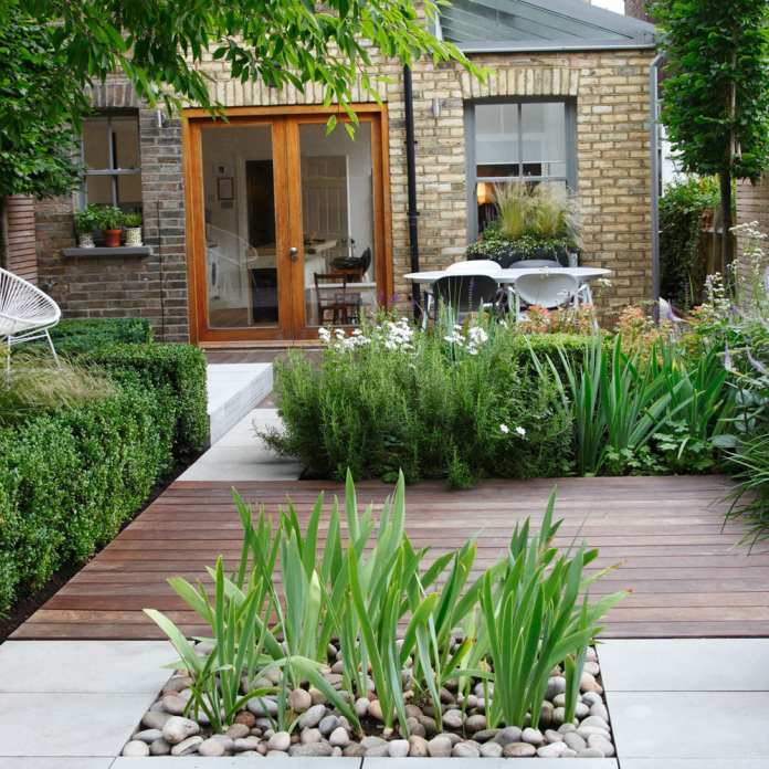 10 Small Courtyard Garden Ideas - Simphome