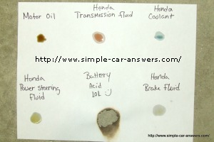 honda power steering diagram marine batteries car leak dripping from your what do you check color is fluid