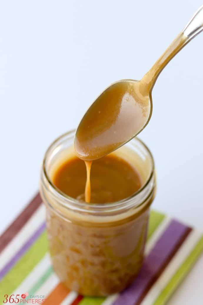 clean eating caramel sauce