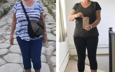 """""""My friends and GP have been amazed that I have LOST weight during my peri-menopause rather than piled it on!"""""""