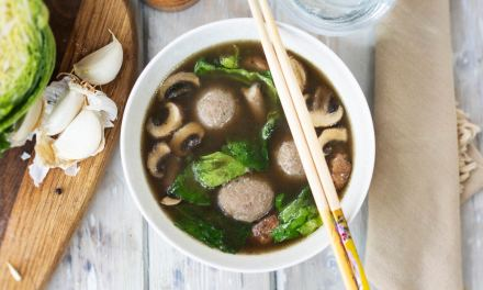 Asian Meatball Broth