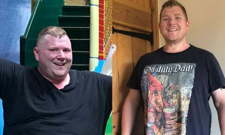 How did Gordon lose over 4 stone in just 90 days?