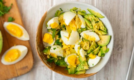 Tanya's Egg and Avocado Mash