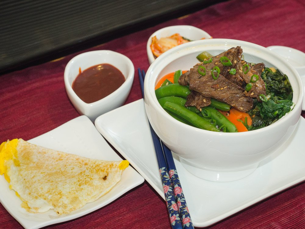 Bi-Bim-Bap with Beef Bulgogi - Simple Awesome Cooking