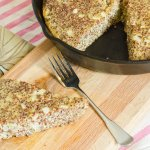 Red Quinoa, Egg and Sausage Breakfast Skillet