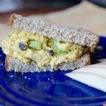 Curry Chicken Salad Sandwich