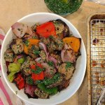 Chimi Marinaded Steak & Vegetable Skewers