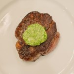 Beef Tenderloin topped with Chimichurri Butter