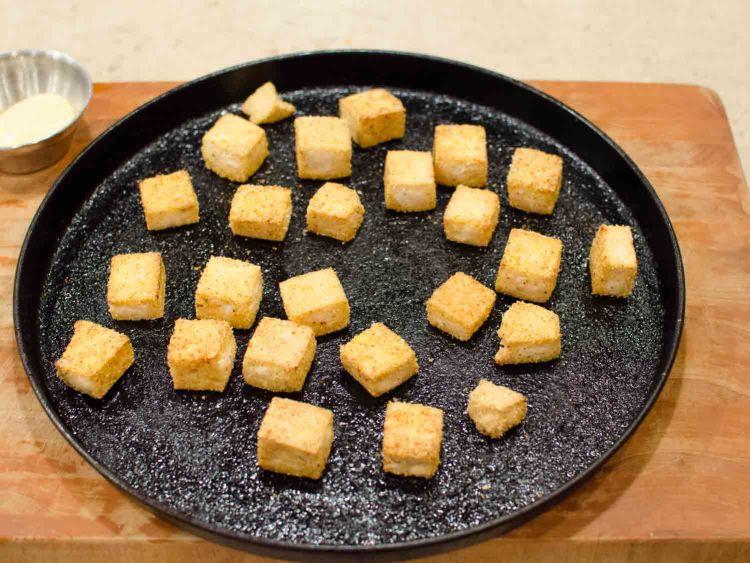 Crispy Baked Tofu on a Sheet Pan
