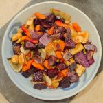 Roasted Beets, Parsnip, Carrots and Fennel