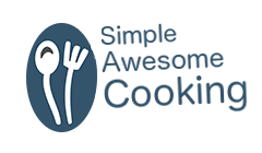 Simple Awesome Cooking Logo