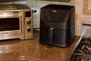 Cosori Air Fryer on the Counter