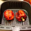 Red Peppers Roasted in an Air Fryer