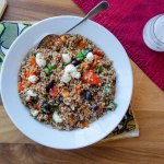 Wheat Berry and Roasted Red Pepper Salad