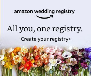 Create an Amazon Wedding Registry today!